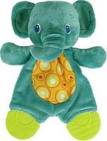 Плюшевая игрушка-прорезыватель Мягкие друзья, слоненок, Bright Starts (8916-1)
