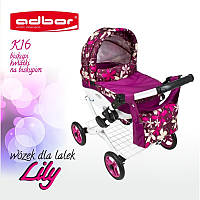 Коляска для кукол Adbor Lily K16