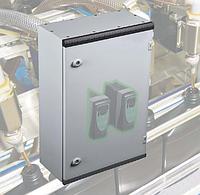 Щит ящик щиток металлический 400х400х200 с монтажной панелью IP66 распределительный управления автоматизации, фото 1