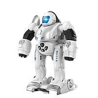 """Робот-трансформер с наручной катапультой """"Деформер"""" (Белый), фото 1"""