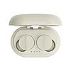 Беспроводные Bluetooth наушники Sabbat Vooplay 100 Reef с чехлом для зарядки (Бежевый)