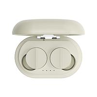 Беспроводные Bluetooth наушники Sabbat Vooplay 100 Reef с чехлом для зарядки (Бежевый), фото 1