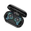 Беспроводные Bluetooth наушники Sabbat X12 Ultra Dream Stone c поддержкой aptX (Черно-зеленый)