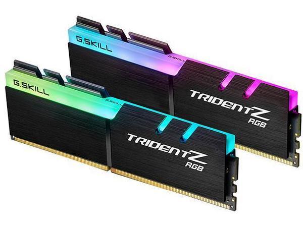 Модуль памяти DDR4 16GB (2x8GB) 3200 G.Skill Trident Z RGB C16-18-18-38 набор из 2-х модулей (F4-3200C16D-16GTZR)