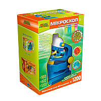 Микроскоп с цветными фильтрами, Украинская упаковка, EasyScience (44007)