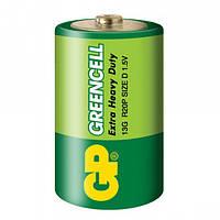 Батарейка GP Greencell D R20P 1.5V, Green