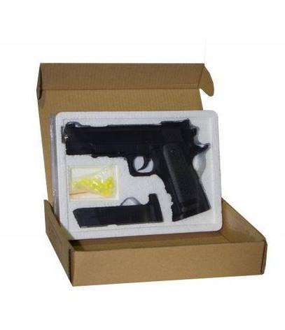 Пистолет металлический детское оружие ZM26, фото 2