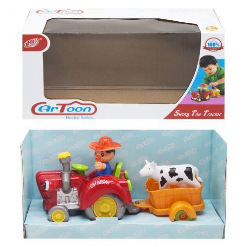 "Трактор ""Swing The Tractor"", красный HD963"