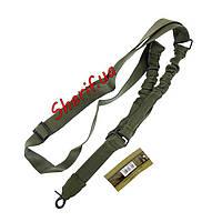 Ремень тактический оружейный 1-точечный  MIL-TEC OLIVE 16185001