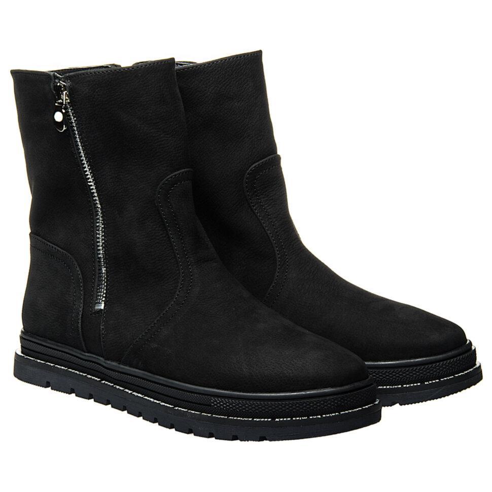 Ботинки La Rose 2326 36(23,6см) Черный нубук