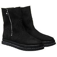 Ботинки La Rose 2326 36(23,6см) Черный нубук, фото 1