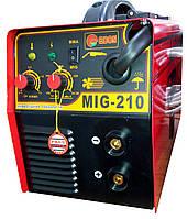 Сварочный инверторный полуавтомат EDON MIG-210
