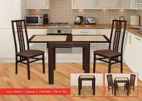 Прямокутний стіл з каменем Мілан