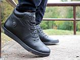 Мужские ботинки кожаные зимние черные Milord Olimp B, фото 8