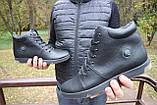 Мужские ботинки кожаные зимние черные Milord Olimp B, фото 9