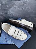 Мужские сандали кожаные летние бежевые Vankristi 1151, фото 6