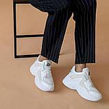 Женские кроссовки кожаные весна/осень белые ANRI-de-colo 655/158, фото 7