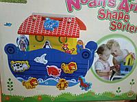 Деревянный сортер «Ноев ковчег», Toys Lab- дерево