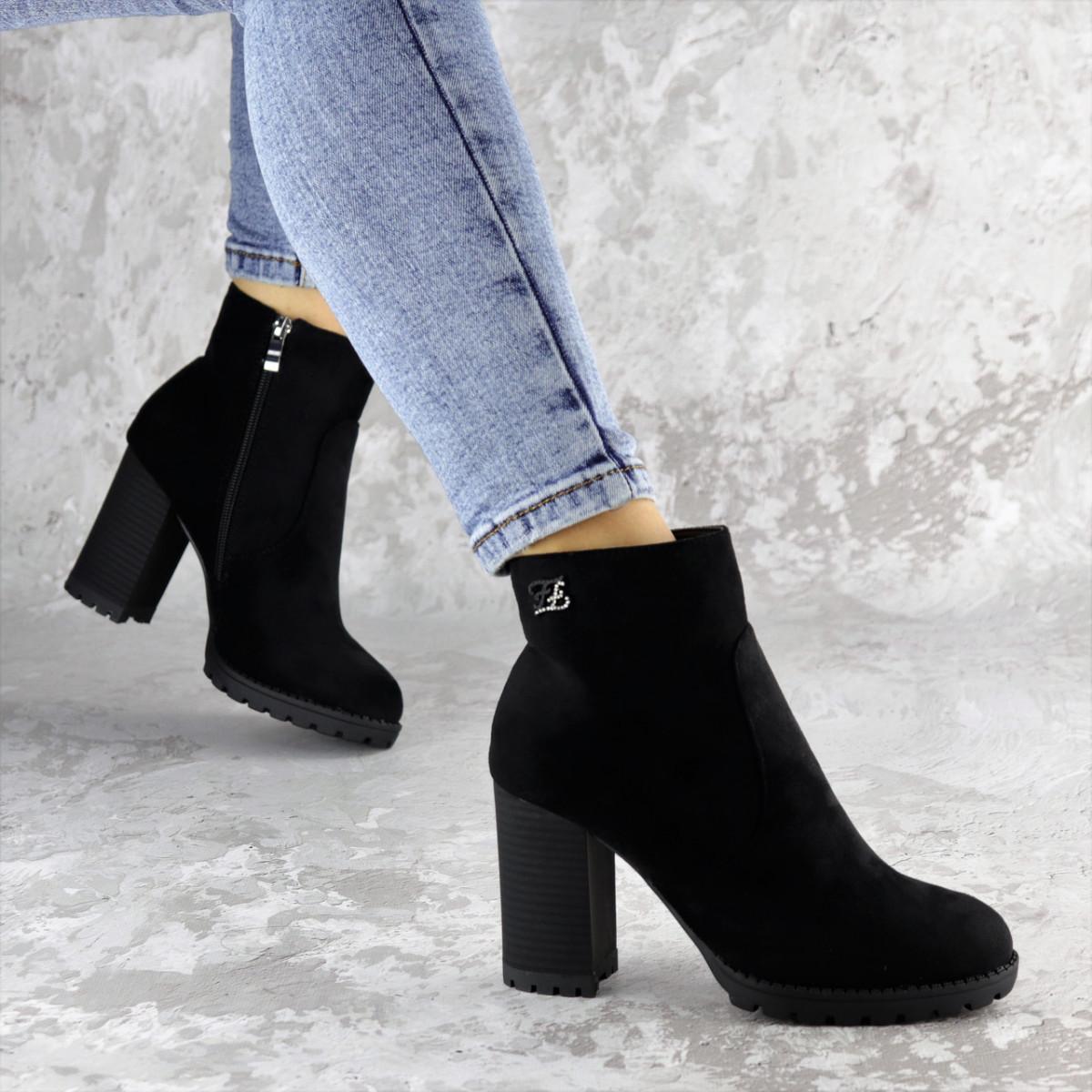 Ботинки женские Fashion Skid 2232 36 размер 23,5 см Черный