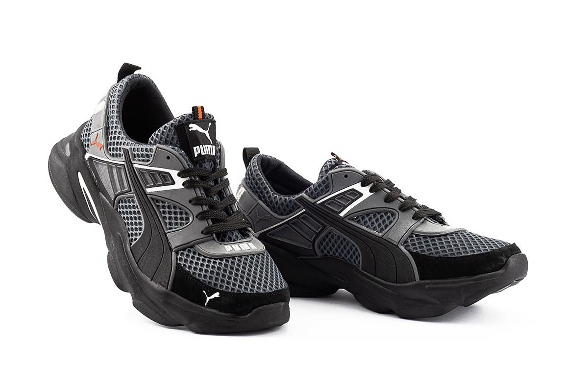 Мужские кроссовки текстильные летние серые Anser P5 сер