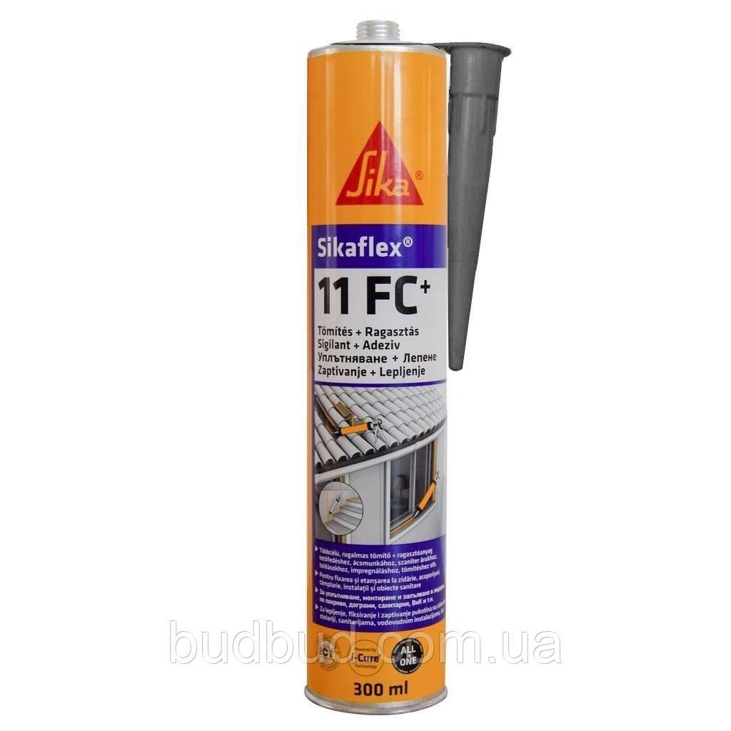 Полиуретановый клей-герметик Sikaflex 11FC + Серый 300 мл