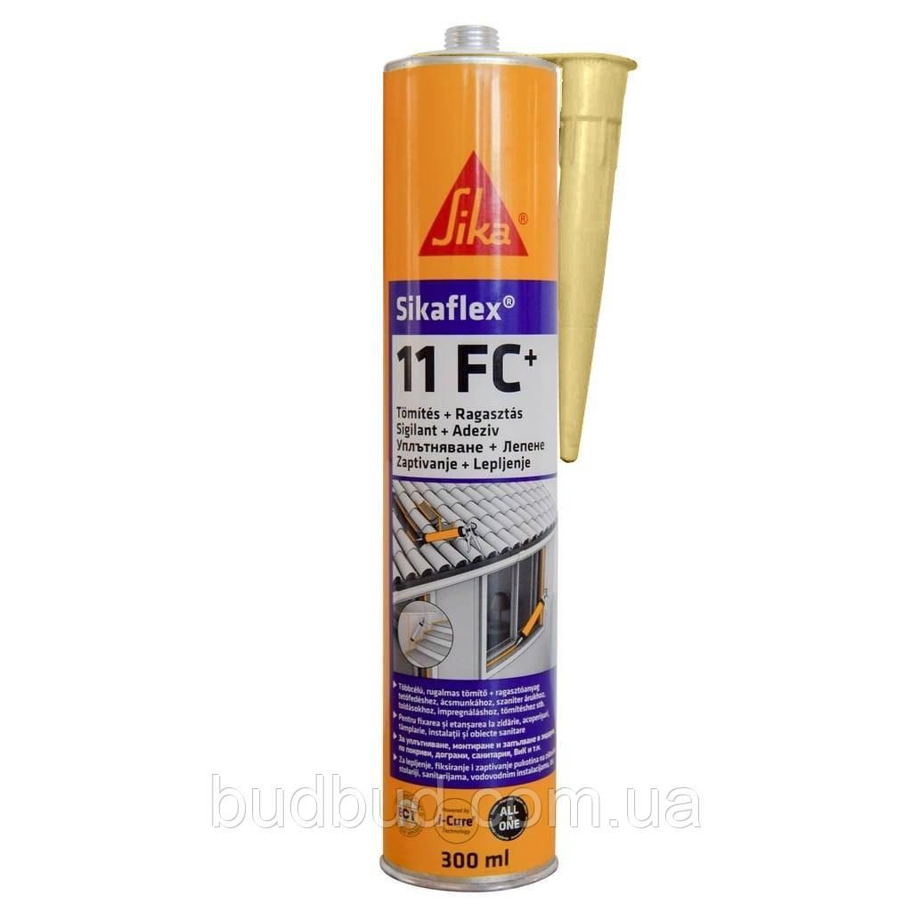 Полиуретановый клей-герметик Sikaflex 11FC + Бежевый 300 мл