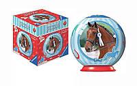 Пазл 3D Спортивные лошади, 54 эл (красный), Ravensburger (11909-3)
