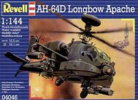 Вертолет (1997г, США) AH-64D Longbow Apache, 1:144, Revell (4046)