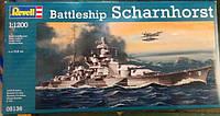 Линкор Battleship Scharnhorst 1:1200, Revell (5136)