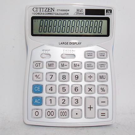Калькулятор электронный ct-9300w, фото 2