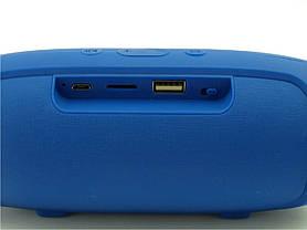 Портативная bluetooth колонка в стиле JBL Charge mini 3+ (Синий), фото 3