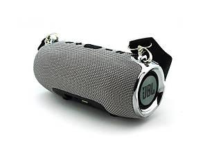 Портативная bluetooth колонка в стиле JBL Xtreme mini (Серая), фото 2
