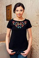 Женская вышитая футболка (189)