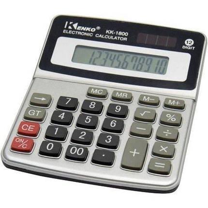 Калькулятор  Kenko KK-1800, фото 2