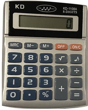 Калькулятор   KK-1108A, фото 2