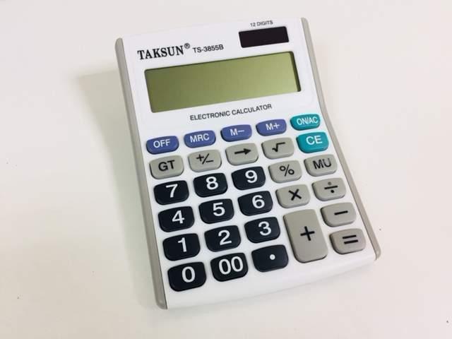 Калькулятор  TAKSUN TS-3855B