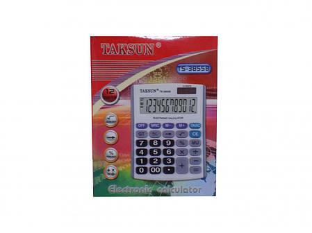 Калькулятор  TAKSUN TS-3855B, фото 2