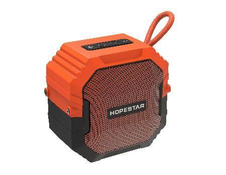 Портативная Bluetooth колонка Hopestar T7 IPX6 (Оранжевый)