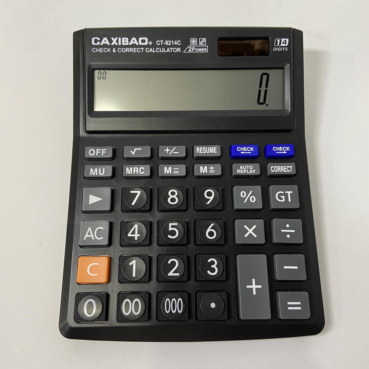 Настольный калькулятор GAXIBAO CT-9214C