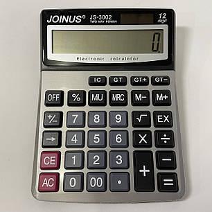 Настольный калькулятор Joinus JS-3002, фото 2