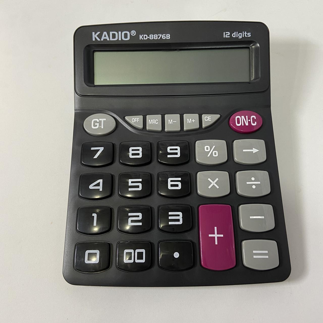 Настольный калькулятор Kadio KD-8876B