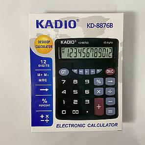 Настольный калькулятор Kadio KD-8876B, фото 2
