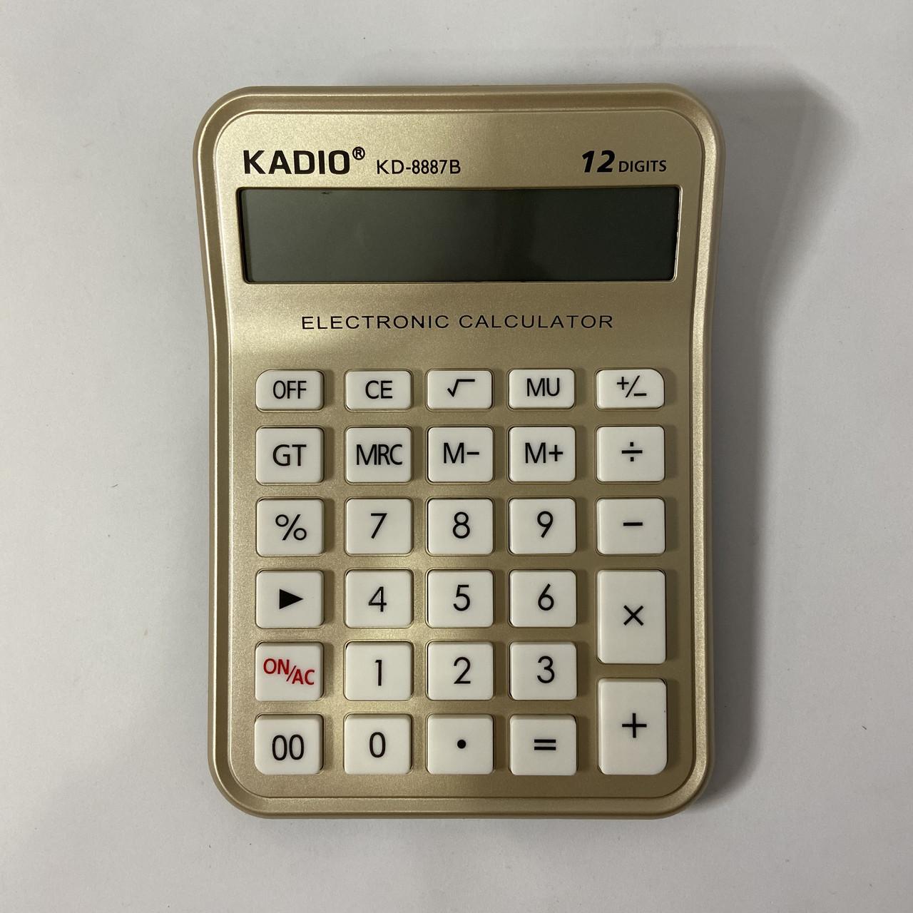 Настольный калькулятор Kadio KD- 8887B