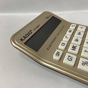 Настольный калькулятор Kadio KD- 8887B, фото 2