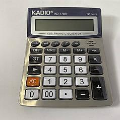 Настольный калькулятор Kadio KD-778B