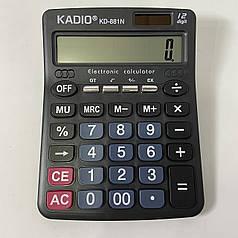 Настольный калькулятор Kadio KD-881N