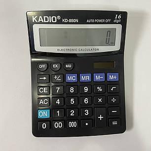 Настольный калькулятор Kadio KD-850N, фото 2
