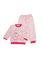 Пижама для девочки с печатью