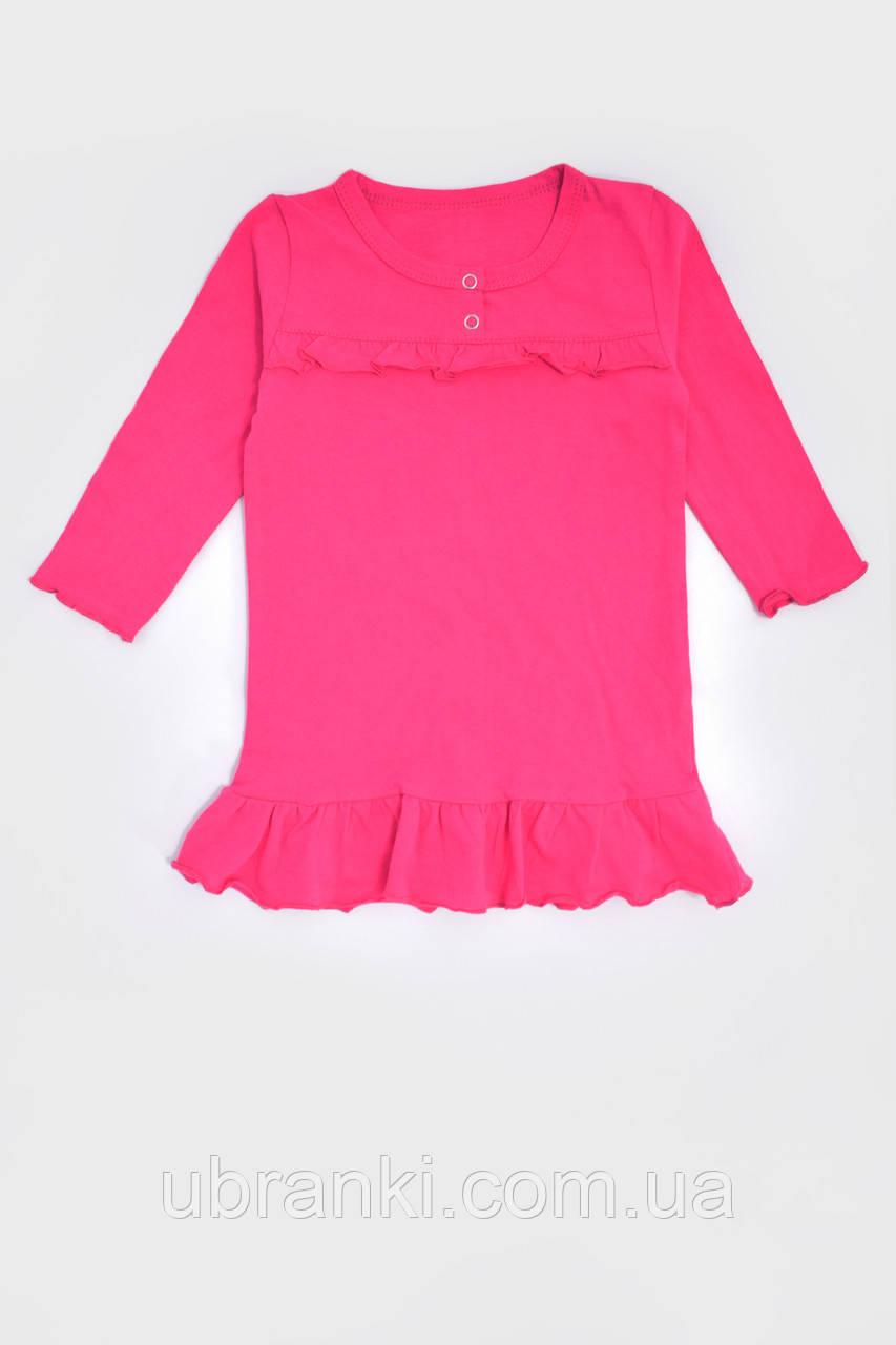 Ночная рубашка для девочки с рукавом