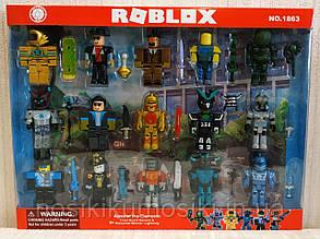 Фигурки героев компьютерной игры Roblox1863 Роблокс - 15 героев, аксессуары